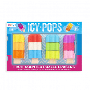 Icy Pops Fruit Scented Erasers