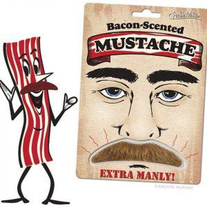 Mustache Smells Like Bacon