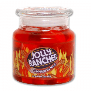Jolly Rancher Cinnamon Fire Candle