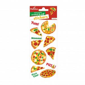 Pizza Scented Sticker Set