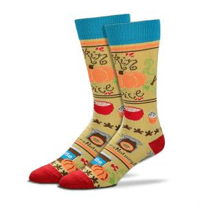 Pumpkin Spice Socks Scented