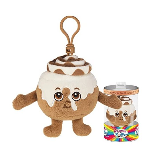 Cinnamon Roll Scented Keychain Whiffer Sniffer