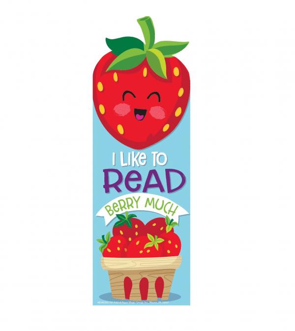 Eureka Strawberry Scented Bookmark