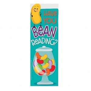 Jelly Bean Candy Bookmarks