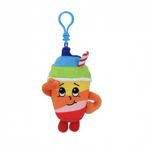 Rainbow Slushie Scented Plush Keychain